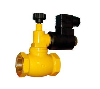 Электромагнитные клапаны GAS GAS N.A. (нормально открытые) 550 мБар (DN15-DN50)