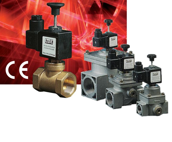 Электромагнитные клапаны серии 400RM6 / 500RM6 / 600RM6 / 900RM6 (RMF6)