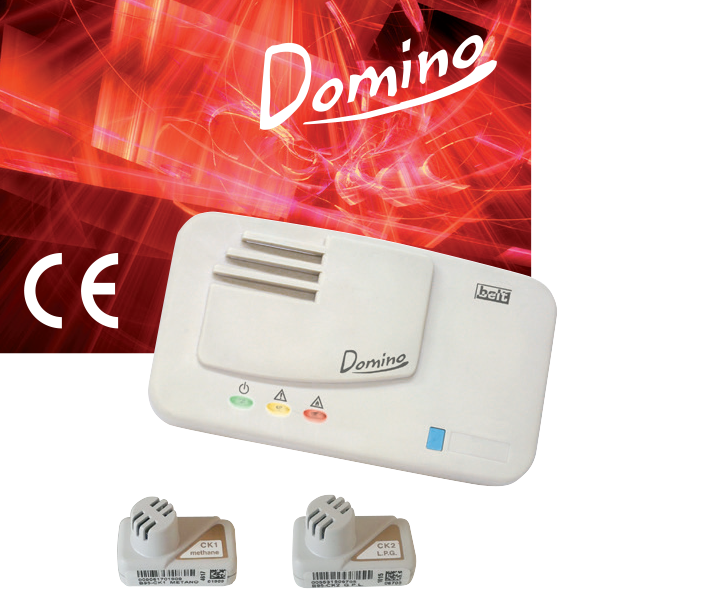 Сигнализатор загазованности горючих газов Domino (B10-DM01; B10-DM02)
