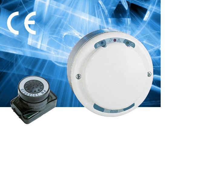 Пороговый датчик газа WPD на CO с аналоговым и с релейным выходами(электрохимия) B20-WPD24BR/C3