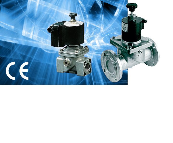 Электромагнитные клапаны на высокое давление 400RM6/500RM6/600RM6/900RM6