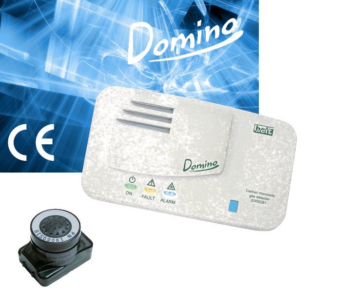 Сигнализатор загазованности угарного газа Domino CO B10-DM03G
