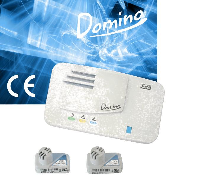 Сигнализатор загазованности горючих газов Domino B10-DM01/DM02