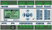 Блоки управления и сигнализации (БУС) MODULA (Модульная адресная система обнаружения газа)