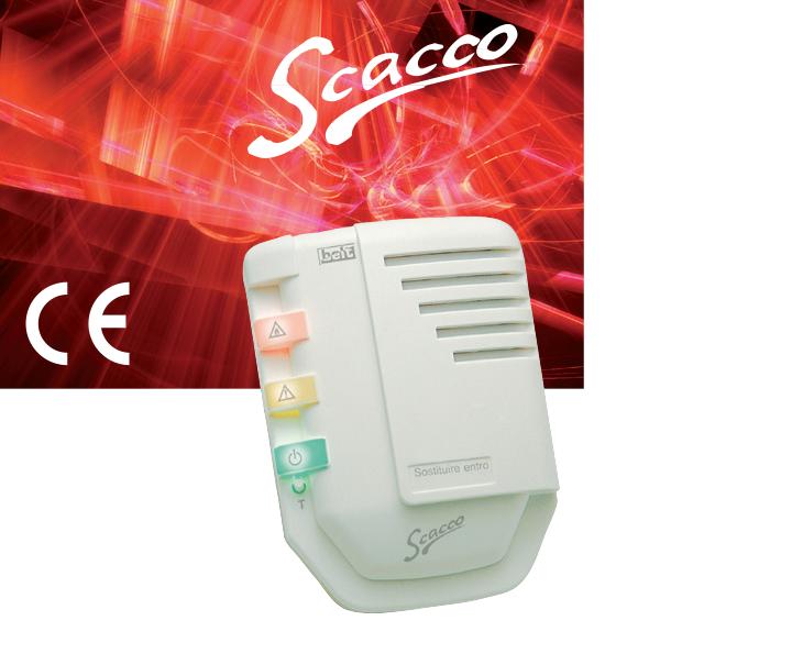 Сигнализатор загазованности горючих газов Scacco (B10-SC01; B10-SC02)