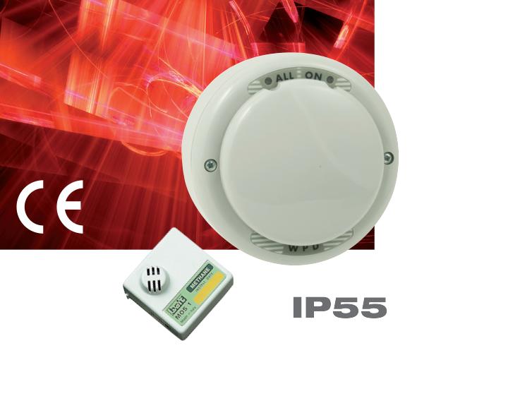 Сигнализатор загазованности WPD с аналоговым и релейным выходами