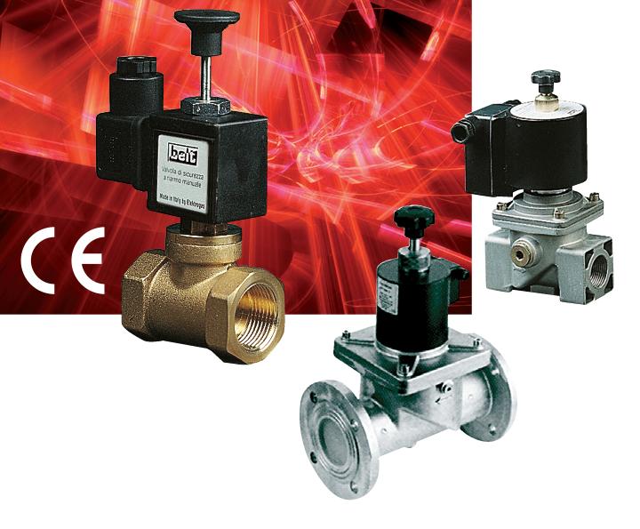 Электромагнитные клапаны серии 400RM / 500RM / 600RM / 900RM (RMF)